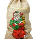 jutesack weihnachtsmann nikolaus