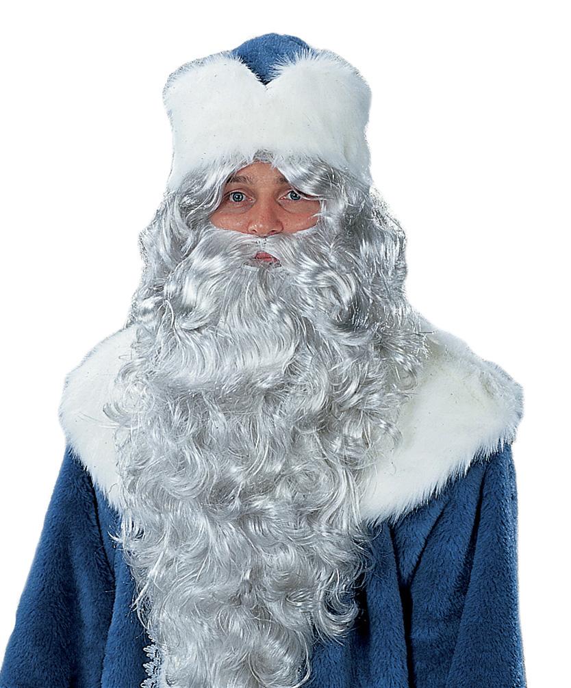 Brief Für Nikolaus : Bart und stirnband für weihnachtsmann nikolaus ruprecht